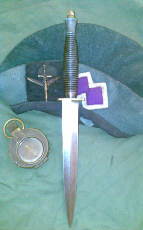 Fairbairn Sykes Dagger issued to Australian Commando